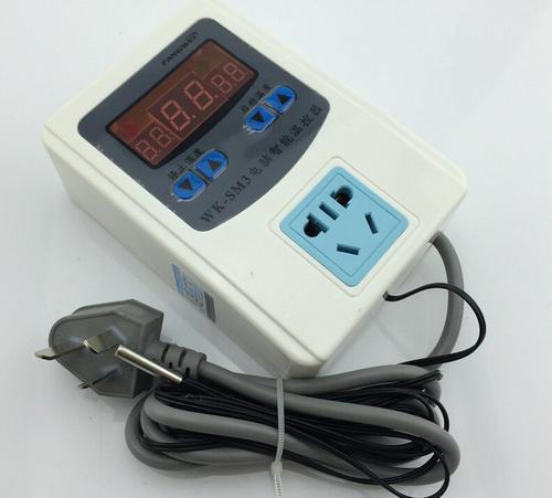 """电炸炉温控器的原理及电线接法抽出現的""""总、高、低""""是什么意思?"""